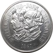 Medal - Purchase of Alaska – reverse