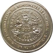 Token - Montreal Coin Club Exhibition – obverse