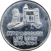 Token - Peterborough Lift Lock, Ontario – obverse