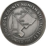 Medal - Huron County Numismatic Association – obverse