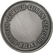 Medal - Huron County Numismatic Association – reverse