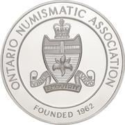 Medal - Ontario Numismatic Association Convention 2016 (Kitchener, Ontario) – reverse