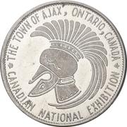 Token - Canadian National Exhibition (Ajax, Ontario) – obverse