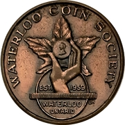 Medal - Waterloo Coin Society (Annual Banquet) – obverse