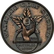 Medal - Ontario Numismatic Association Convention 1962 (Kitchener,  Ontario) – obverse