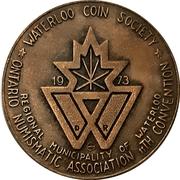 Medal - Ontario Numismatic Association Convention 1973 (Waterloo, Ontario) – obverse