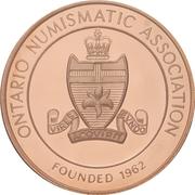 Medal - Ontario Numismatic Association (Canada 150) – obverse