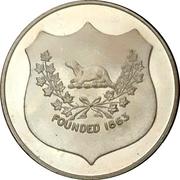 Medal - Tillsonburg, Ontario (Canadian centennial) – reverse