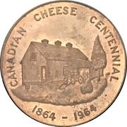 Medal - Canadian Cheese Centennial (Norwich, Ontario) – obverse