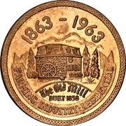 Token - Orangeville, Ontario (Centennial) – reverse