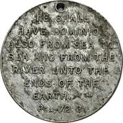 Medal - Canada (Psalms 72:8) – reverse