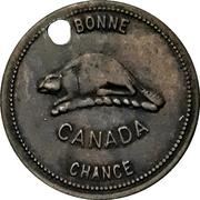Token - Good Luck / Bonne Chance (Canada) – reverse