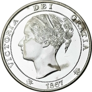 Medal - Canadian Confederation Centennial – obverse