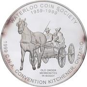 Medal - Canadian Numismatic Association 1999 (Kitchener, Ontario) – obverse