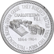 Token - Centennial of First Confederation Conference – obverse