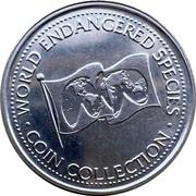 Token - World Endangered Species Coin Collection (Giant Panda) – reverse