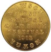 Token - Gold Rush Festival (Dawson City, Yukon) – obverse