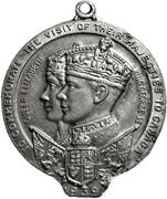 Medallion - George VI & Elizabeth (Visit to Canada 1939) – obverse