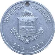 Token - Winnipeg 75th Anniversary Jubilee – obverse