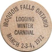 Wooden Quarter - Calvert Coin Club (Iroquois Falls, Ontario) – reverse