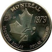 Souvenir Dollar - I.A.A.F. World Cup II  (Hurdles) – obverse