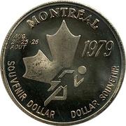 Souvenir Dollar - I.A.A.F. World Cup II (Running) – obverse