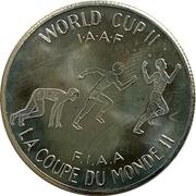 Souvenir Dollar - I.A.A.F. World Cup II (Running) – reverse