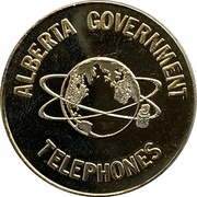 5 Dollars - Alberta Government Telephones -  obverse