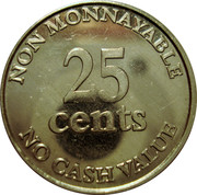 25 Cents - Zoo de Granby – reverse