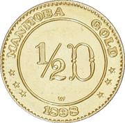 ½ Dollar - Manitoba (Maple Leaf & Bison) – reverse