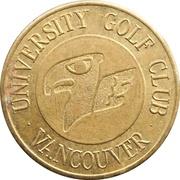 Golf Token - University Golf Club – obverse