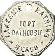 Locker Token - Lakeside Bathing Beach (Port Dalhousie, Ontario) – obverse