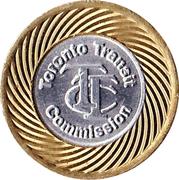 1 Fare - Toronto Transit Commission (Bimetallic) -  obverse