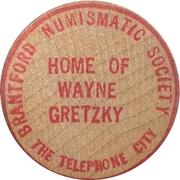 25 Cents - Brantford Numismatic Society (Ontario) – obverse