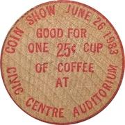 25 Cents - Brantford Numismatic Society (Ontario) – reverse