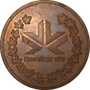 Participants Medal - 1978 Edmonton Commonwealth Games – reverse