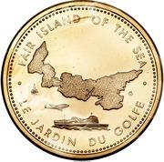Medal - Centennial of Confederation - Prince Edward Island – obverse