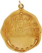 Medal -  Royal Canadian Golf Association Open Championship (Walter Hagan) – reverse