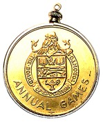 Medal - Toronto Board of Education Annual Games 1967 – obverse