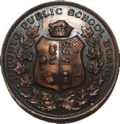 School Medal - 4 years Good Conduct (Toronto, Ontario) – obverse