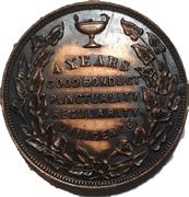 School Medal - 4 years Good Conduct (Toronto, Ontario) – reverse