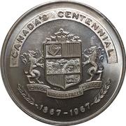 Medal - Canada's Centennial (Niagara Falls, Ontario) – obverse