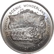 Medal - Canada's Centennial (Niagara Falls, Ontario) – reverse