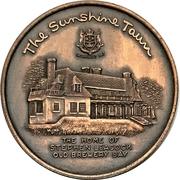 Medal - Orillia, Ontario Centennial – reverse