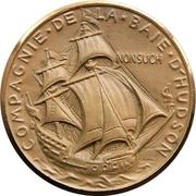 Medal - Hudson's Bay Company 300th Anniversary – reverse