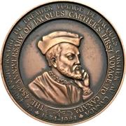 Medal - Jacques Cartier – obverse