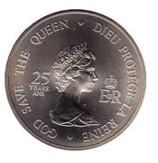 Medallion -  Elizabeth II (Four Governors General) – obverse