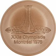 Montreal - Olympic Participation Medal – obverse