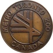 Medal - Metro Toronto Zoo – obverse
