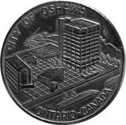 Token - City of Oshawa – reverse